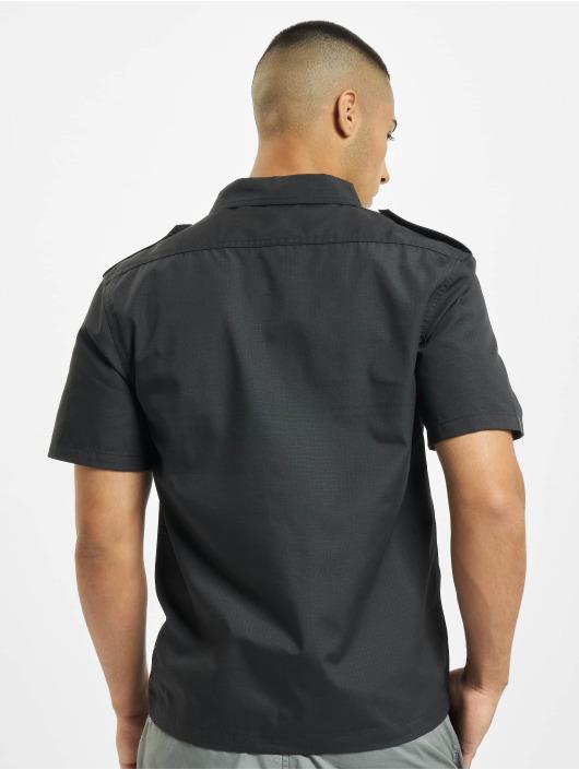 Brandit Skjorte US Ripstop sort