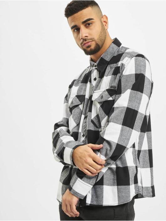 Brandit Skjorter Check hvit