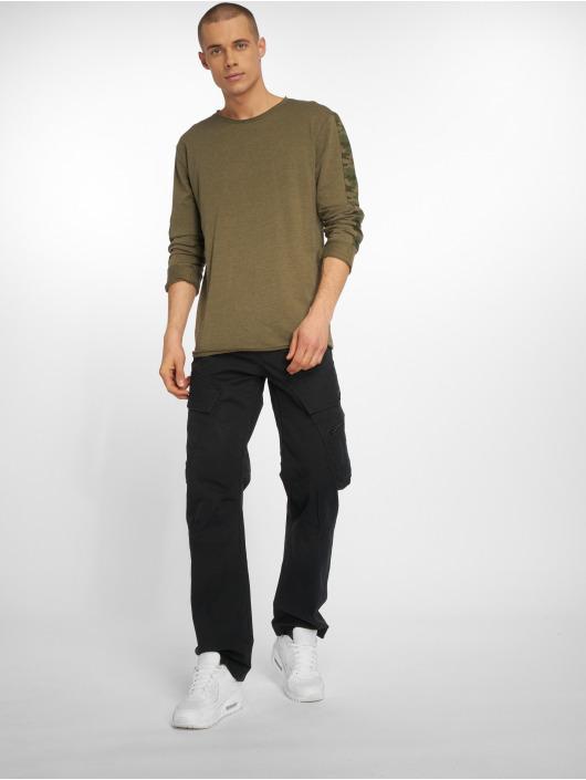 Brandit Spodnie Chino/Cargo Adven czarny