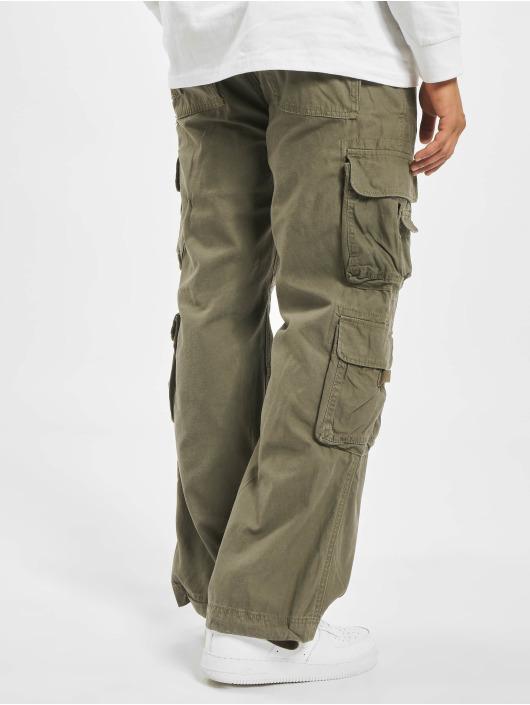 Brandit Spodnie Chino/Cargo Pure oliwkowy