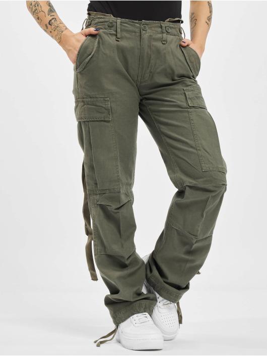 Brandit Spodnie Chino/Cargo M65 Ladies oliwkowy