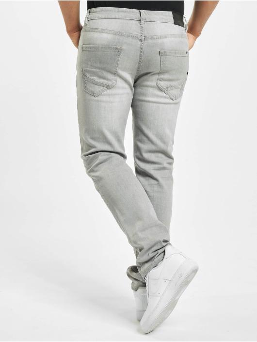 Brandit Straight Fit Jeans Jake šedá