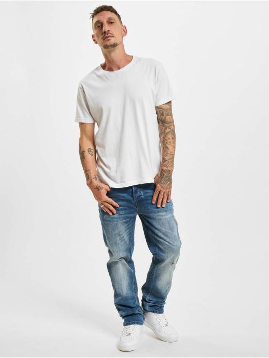 Brandit Straight Fit Jeans Will Denim Trouser No. 1 blå