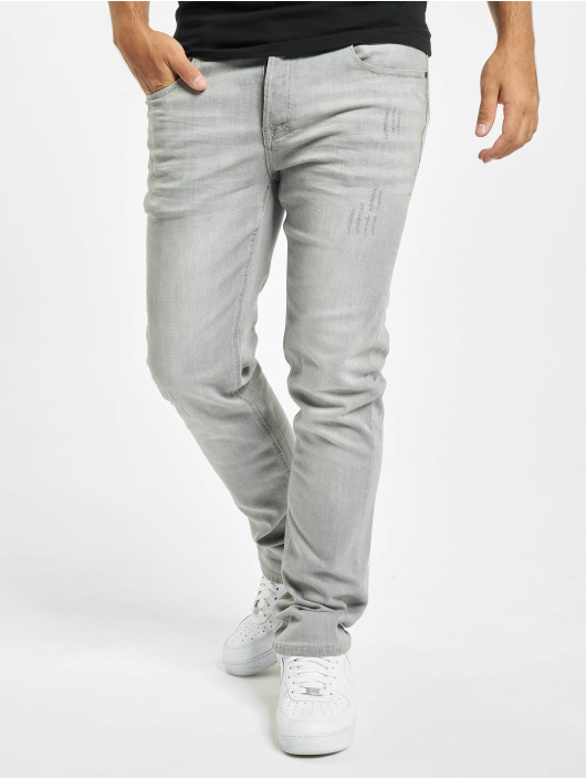 Brandit Straight Fit Jeans Jake grå