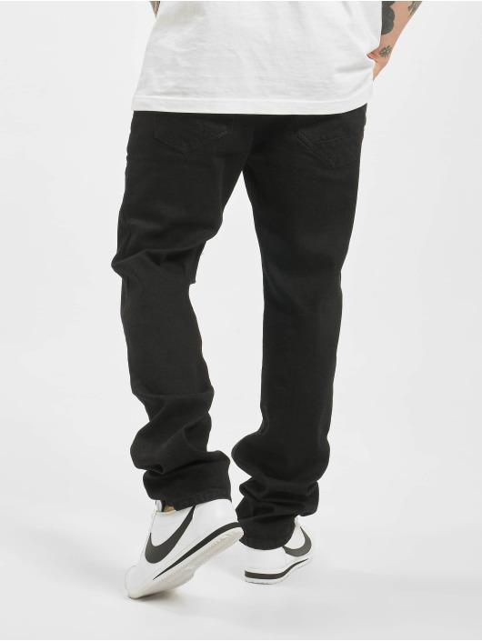 Brandit Straight Fit Jeans Mason Unwashed schwarz