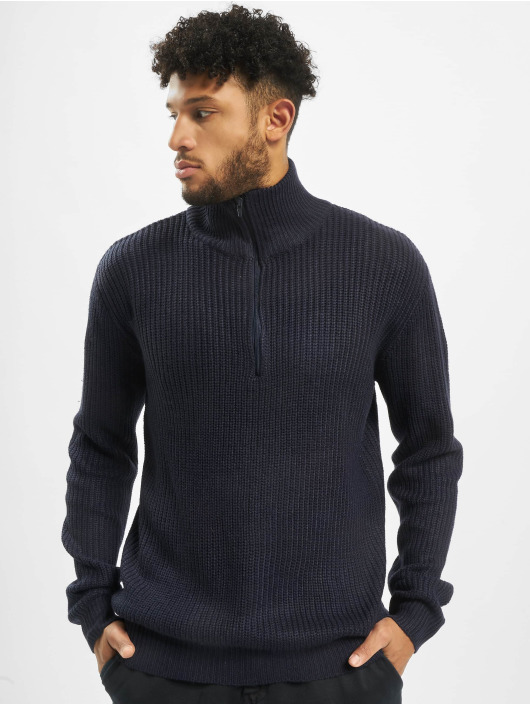 Brandit Sweat & Pull Marine Troyer bleu