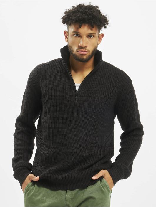 Brandit Swetry Marine Troyer czarny