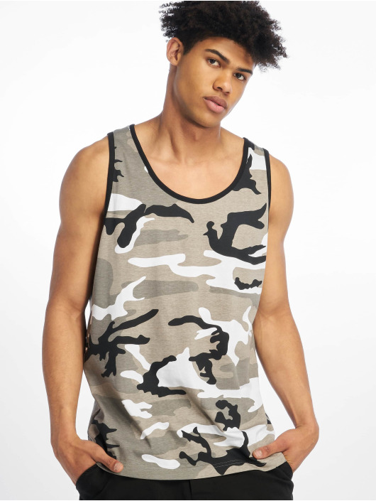 Brandit T-Shirt Tank Top grey