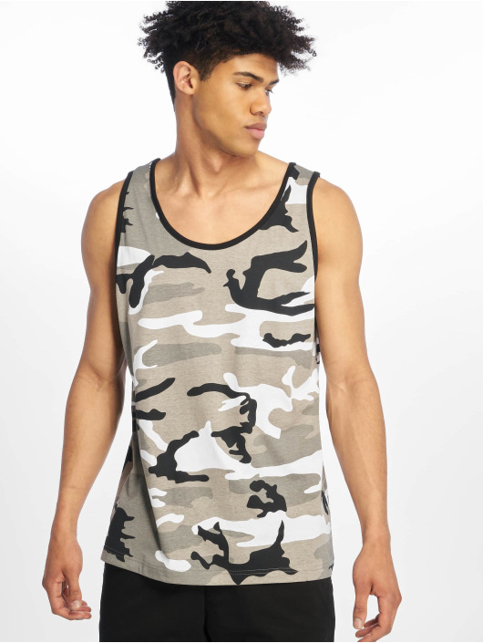 Brandit T-shirt Tank Top grigio
