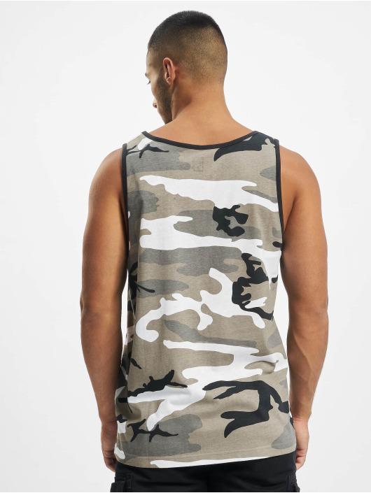 Brandit T-Shirty Tank Top szary