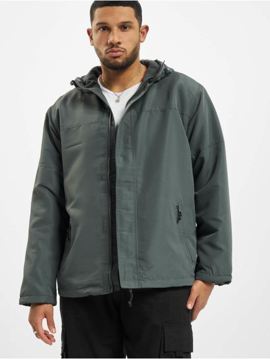 Brandit Transitional Jackets Frontzip grå