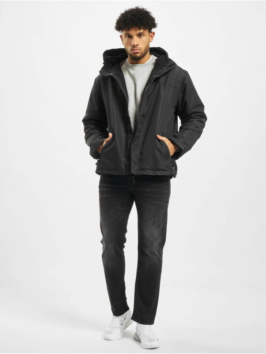 Brandit Transitional Jackets Fullzip svart