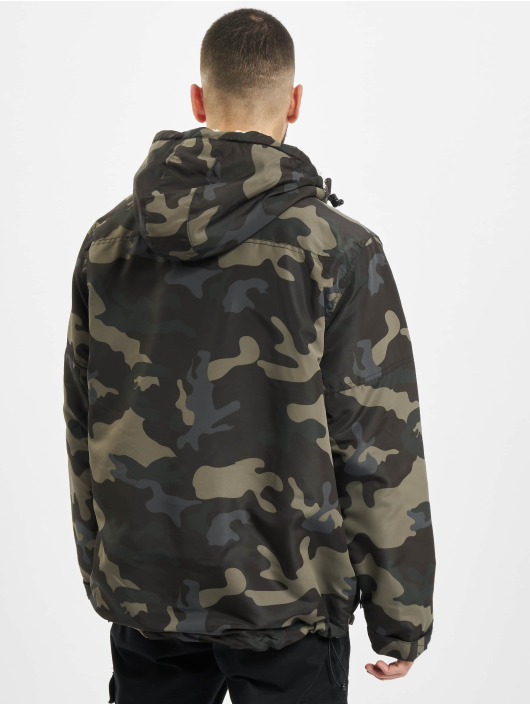 Brandit Übergangsjacke Sherpa Windbreaker camouflage