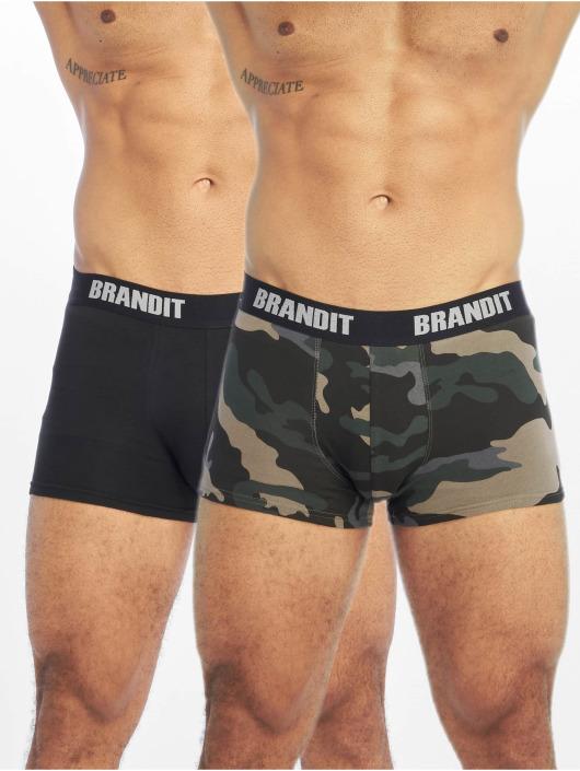 Brandit Underwear Logo 2er Pack camouflage