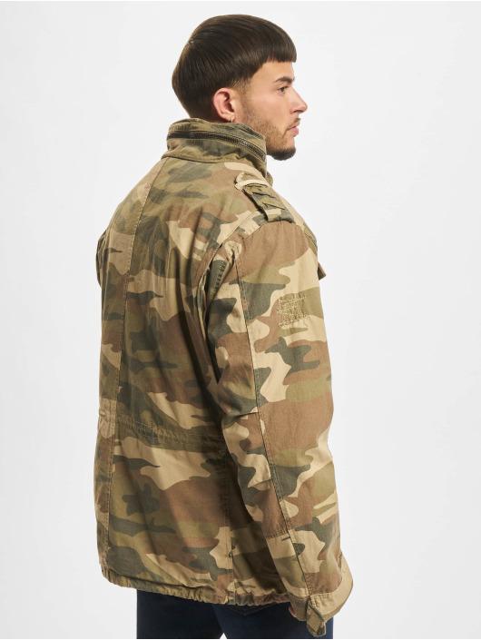 Brandit winterjas M65 Giant camouflage