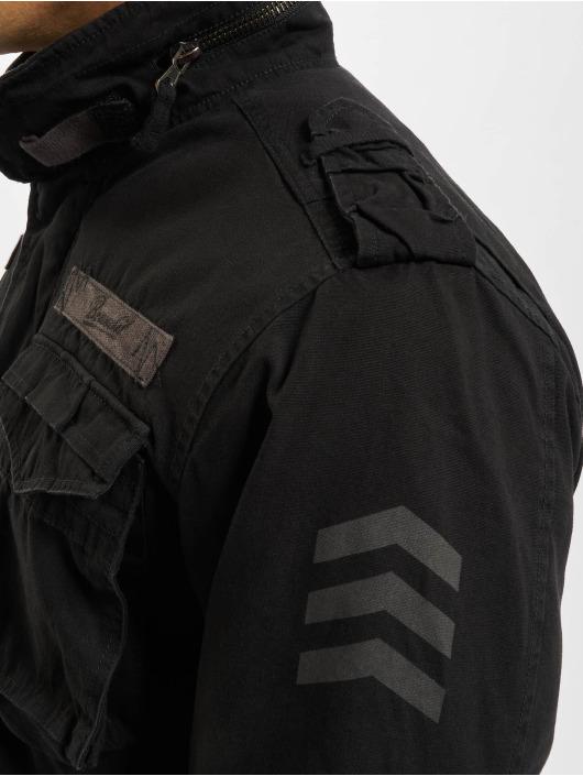 Brandit winterjas M65 Giant zwart