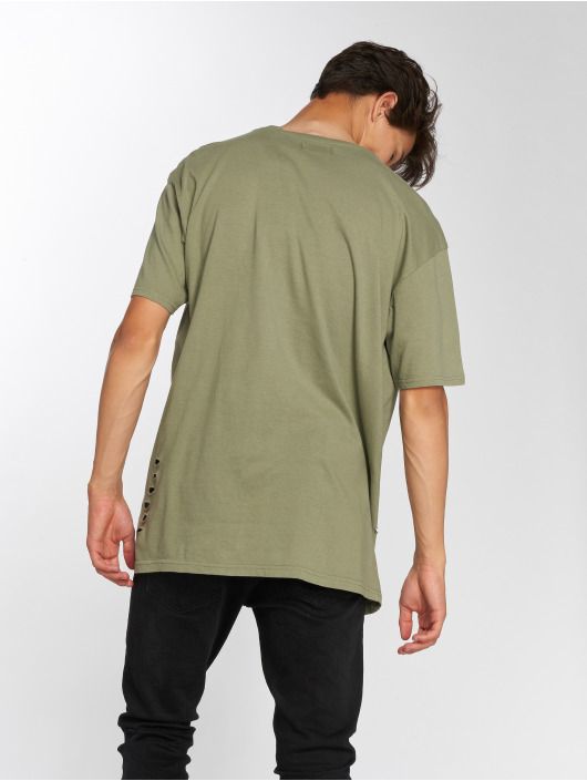 Brave Soul t-shirt Benji olijfgroen