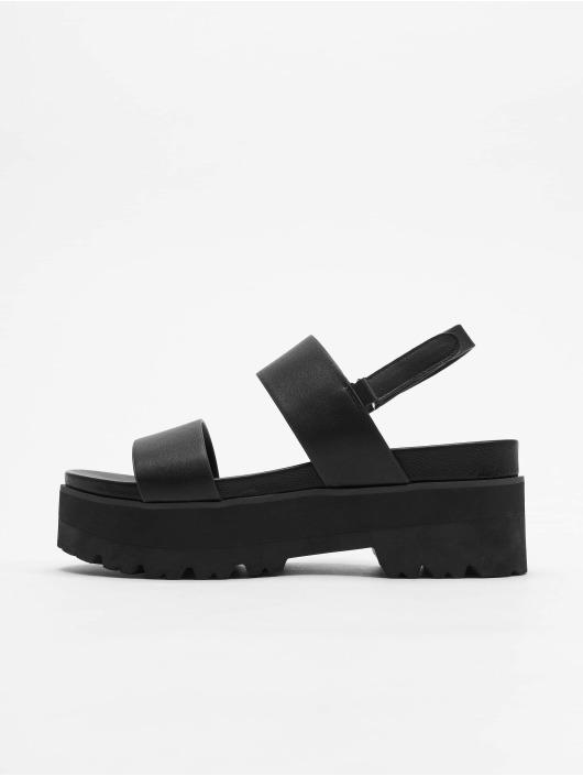 Buffalo Badesko/sandaler Elita svart