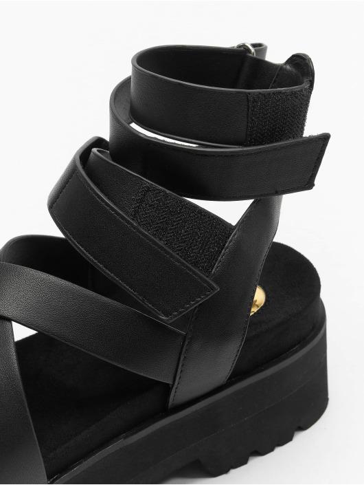 Buffalo Claquettes & Sandales Elsie noir