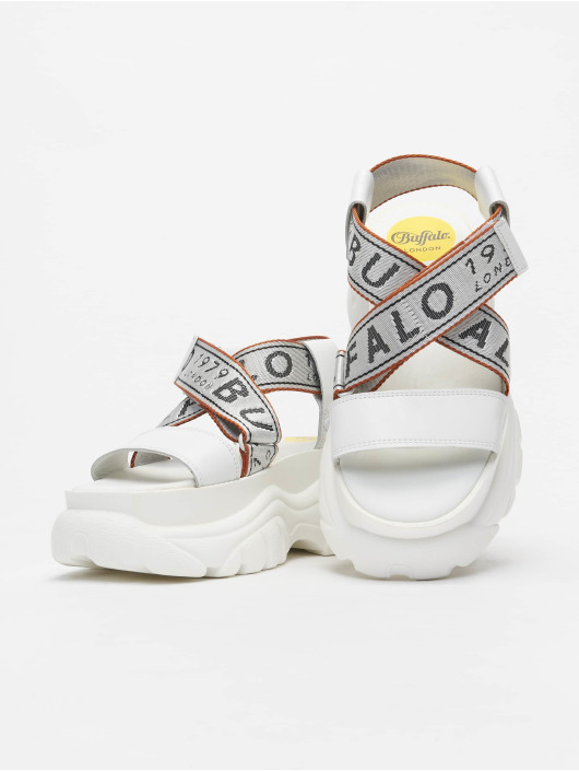 Buffalo London Sandals BO Plateau white