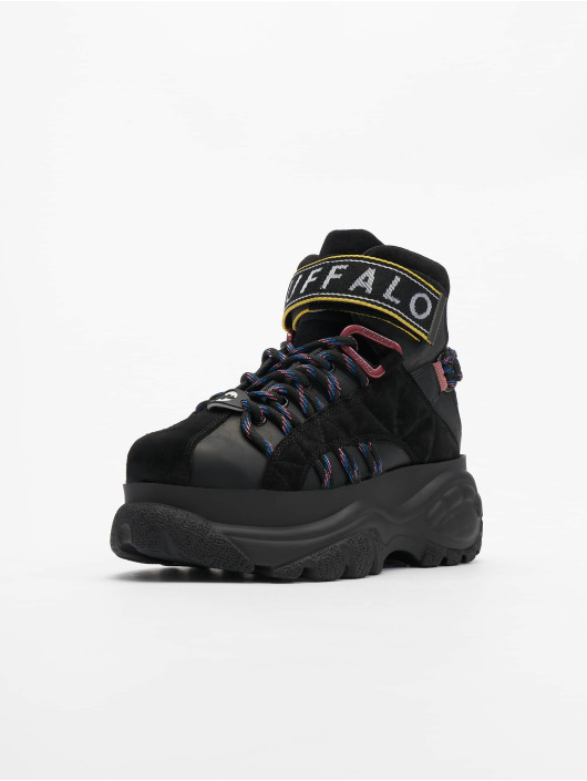 Buffalo London sneaker 1452-14 zwart