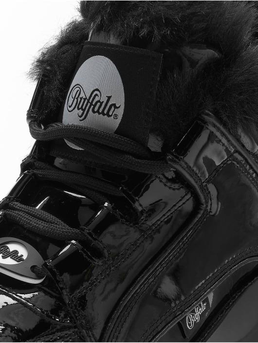 Buffalo London Snejkry 1339-14 2.0 Patent Leather čern