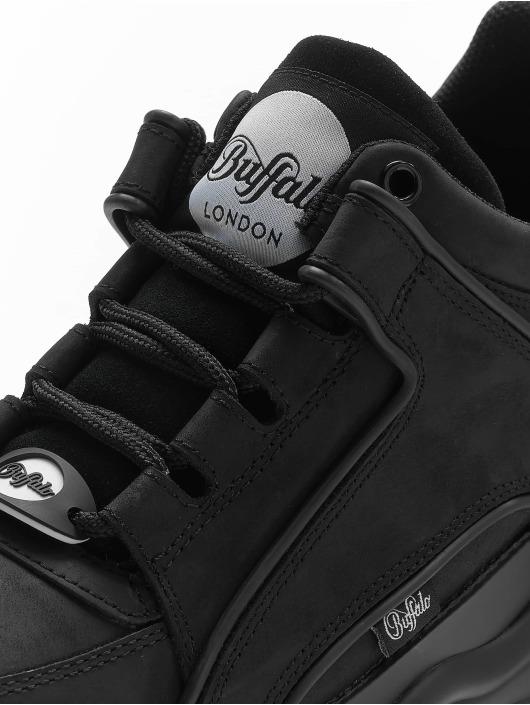 Buffalo London Tøysko 1339-14 2.0 V Cow Leather svart