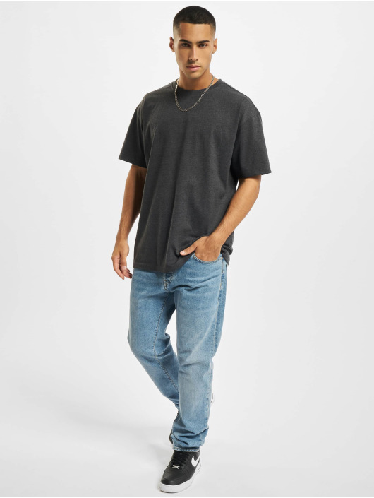 Build Your Brand T-Shirt Heavy Oversize grey