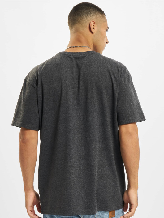 Build Your Brand T-shirts Heavy Oversize grå