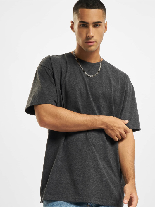 Build Your Brand T-Shirty Heavy Oversize szary