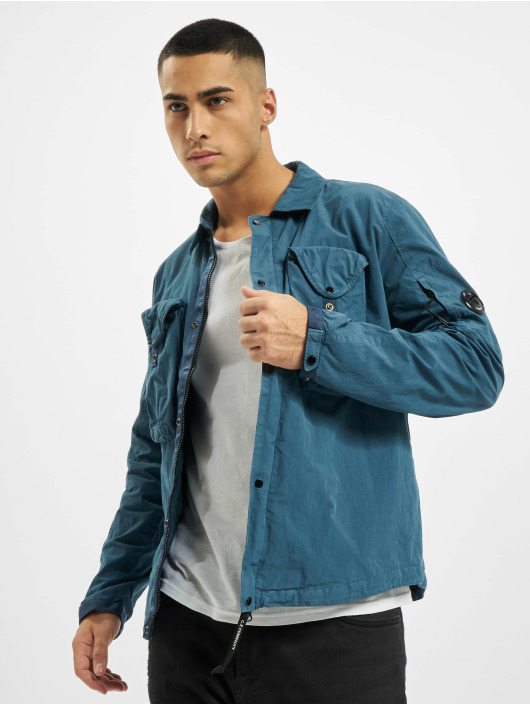 C.P. Company Рубашка Overshirt синий
