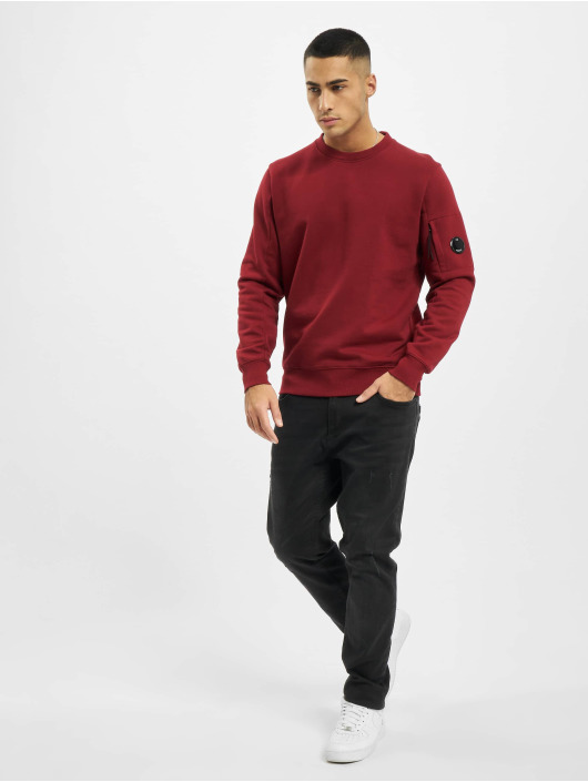 C.P. Company Pullover Diagonal Raised Fleece gray