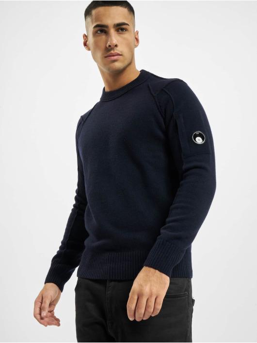 C.P. Company Svetry Knit modrý