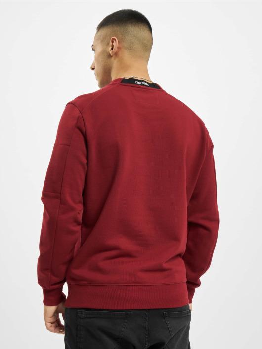 C.P. Company Sweat & Pull Diagonal Raised Fleece gris
