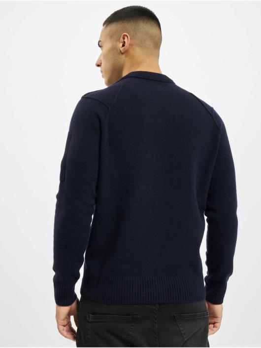 C.P. Company Swetry Knit niebieski