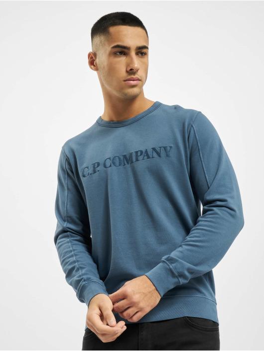 C.P. Company Tröja Light Fleece blå