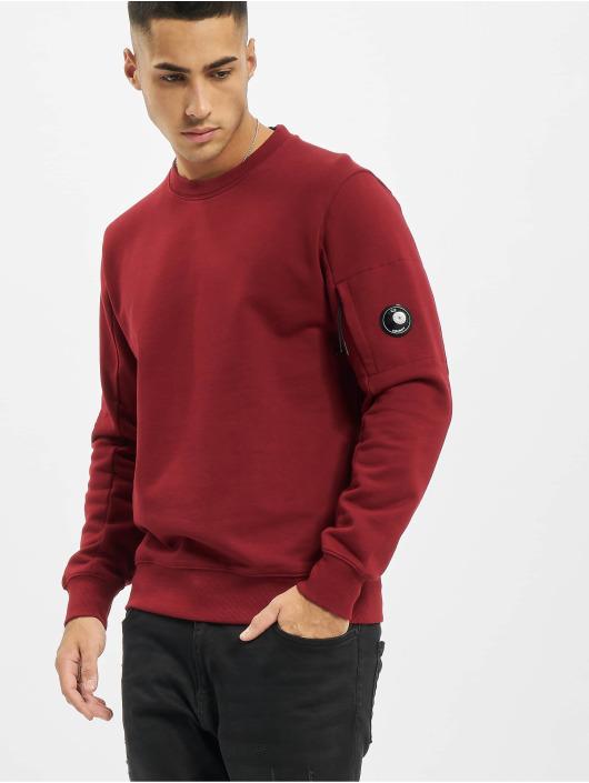 C.P. Company Tröja Diagonal Raised Fleece grå