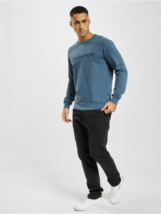 C.P. Company trui Light Fleece blauw