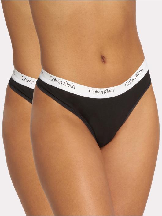 Calvin Klein Alusasut 2 Pack musta
