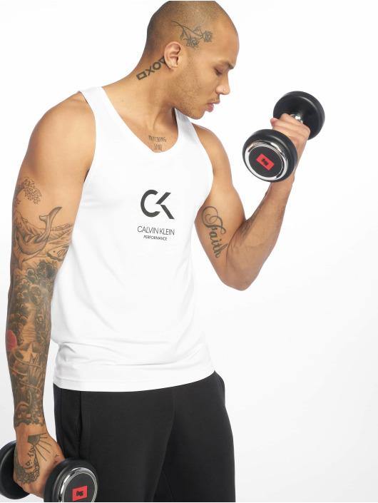 Calvin Klein Performance Sport Tanks Logo biela