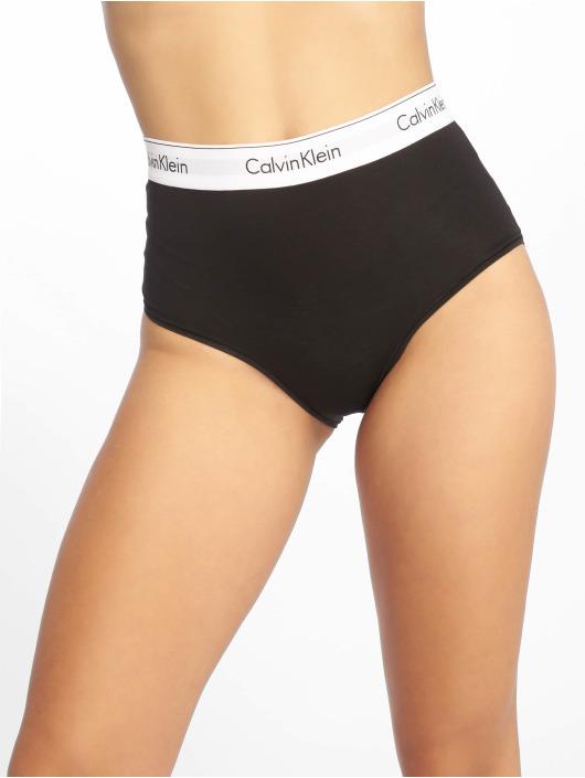 Calvin Klein Spodní prádlo High Waist Hipster čern