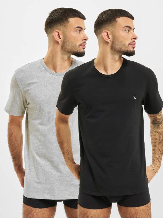 Calvin Klein t-shirt 2-Pack grijs
