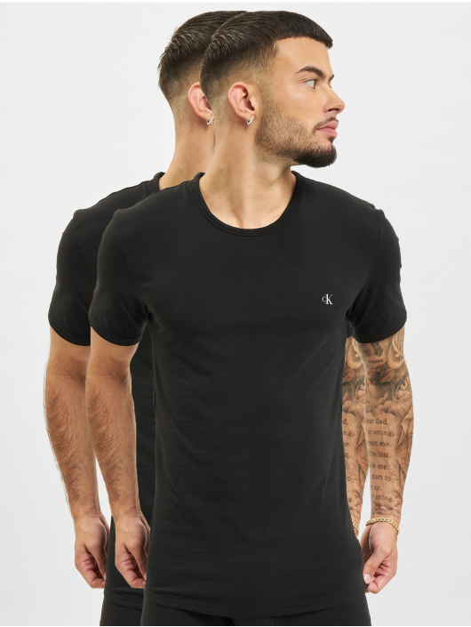 Calvin Klein T-Shirt 2-Pack noir