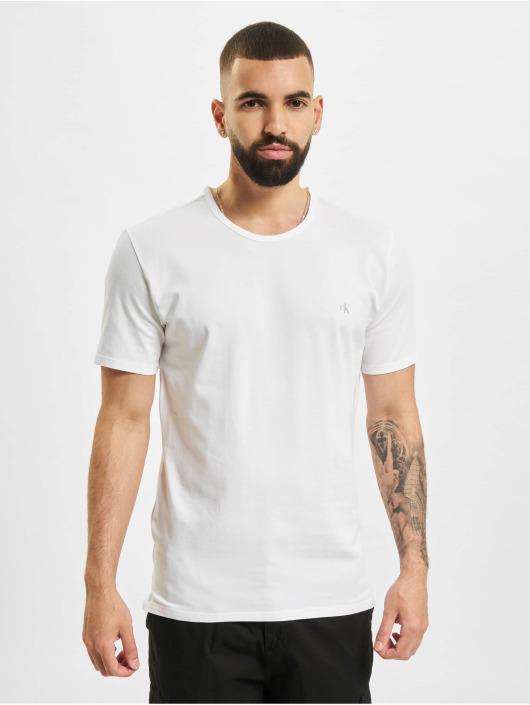 Calvin Klein T-skjorter 2-Pack hvit