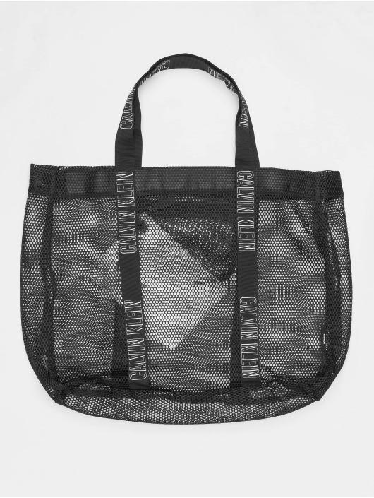 detailed look 48d8e f2f1f Calvin Klein Mesh Beach Hold All Bag Black