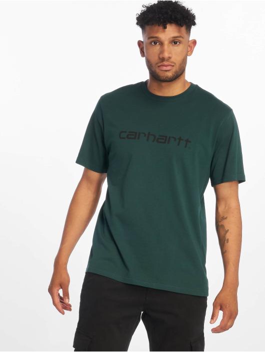 Carhartt WIP Футболка Script зеленый