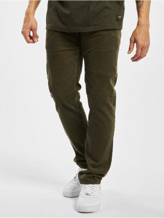 Carhartt WIP вельветовые брюки Klondike зеленый