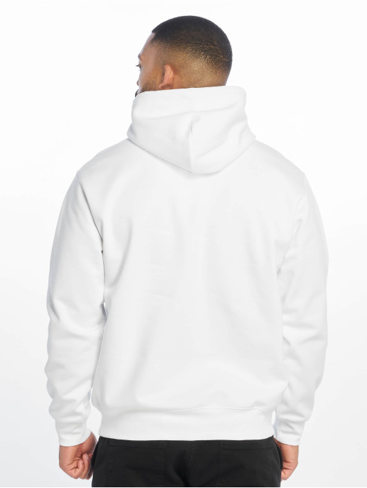 Carhartt WIP Bluzy z kapturem Label bialy