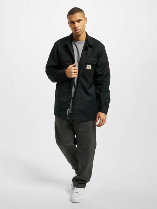 Carhartt WIP Camisa Master negro