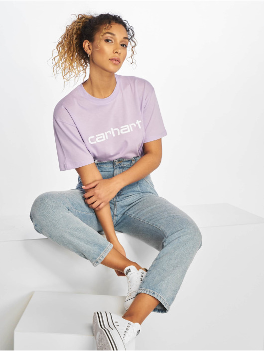 Carhartt WIP Dámske džínsy WIP Maverick Cleo Relaxed Tapered modrá